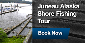Juneau Alaska Shore Fishing Tours